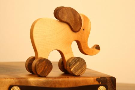 Jucarie din lemn Elefant4