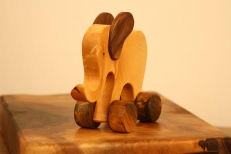 Jucarie din lemn Elefant5