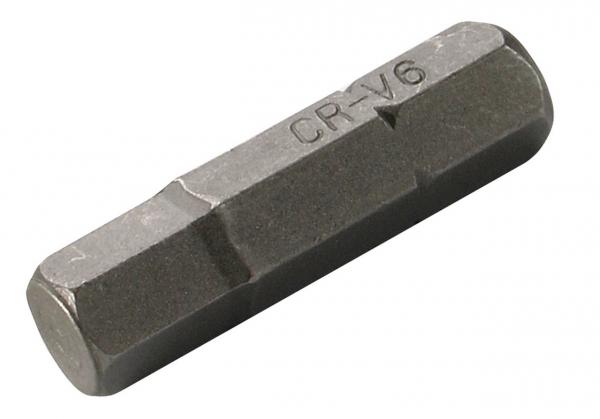 "BGS-4387 Bit int.hex. 7 mm, 30 mm, act.5/16"" 0"