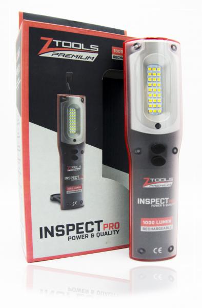 Lanterna 1000 lumeni, InspectPro1000 , Li-Ion SMD IP54 1