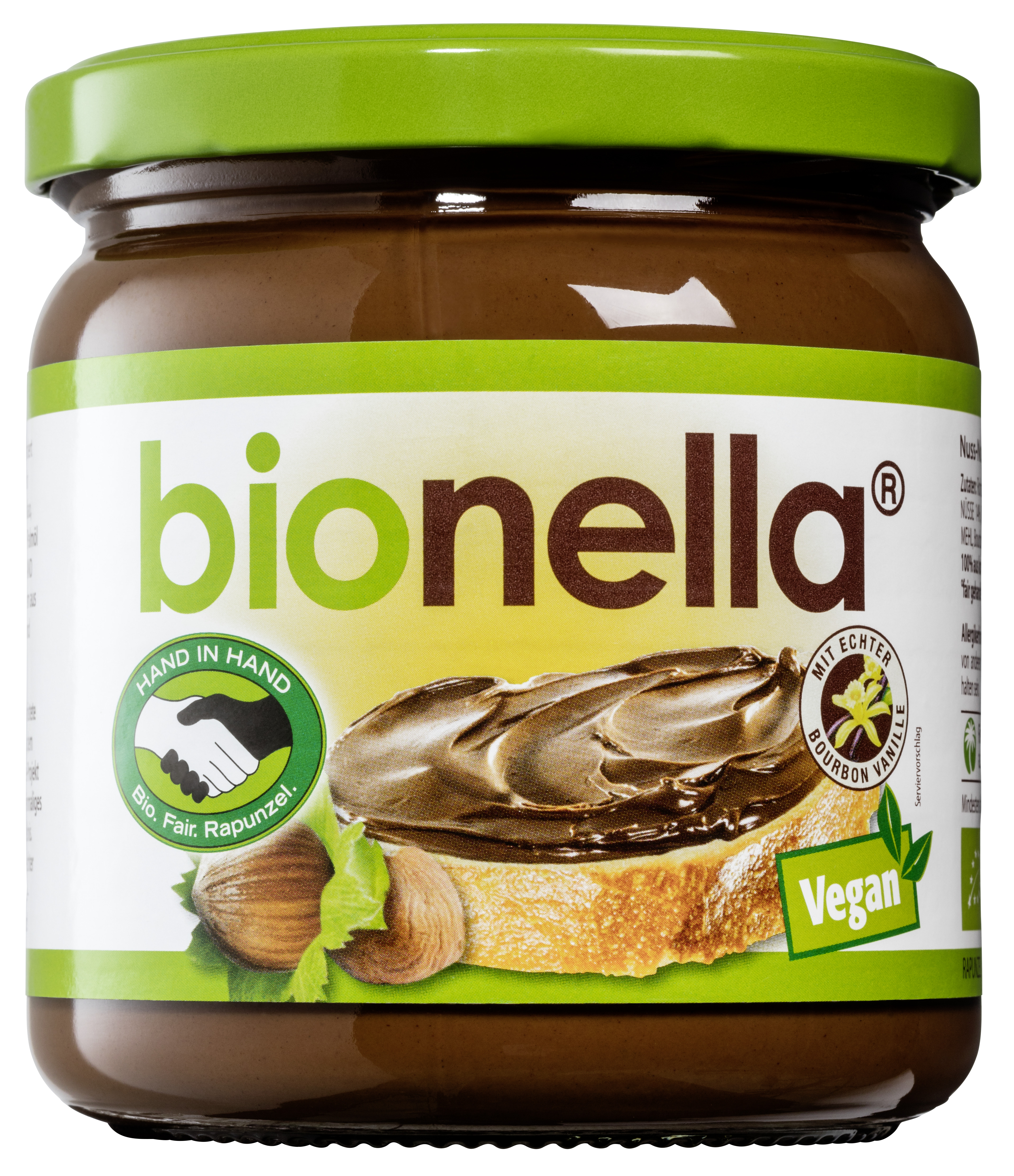 Crema vegana de alune cu ciocolata Bionella 0