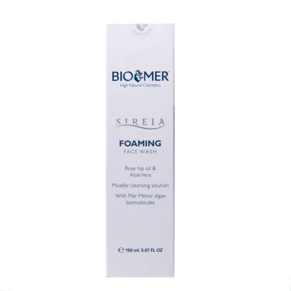 Spuma pentru curatarea fetei cu ulei de macese si Aloe Vera, Sireia - Bio Mer, 150 ml 2