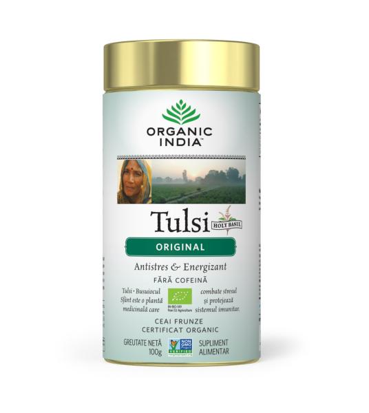 Ceai Tulsi (Busuioc Sfant) Original - Antistres & Vitalizant 0