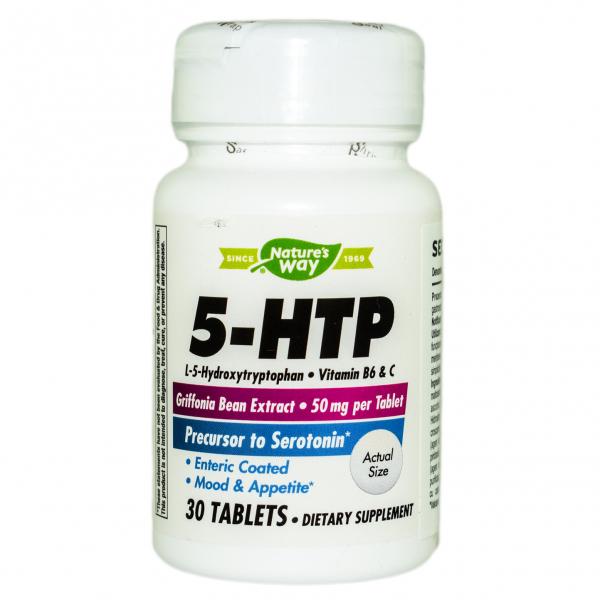 5-HTP Nature's Way, 30 tablete, Secom 0