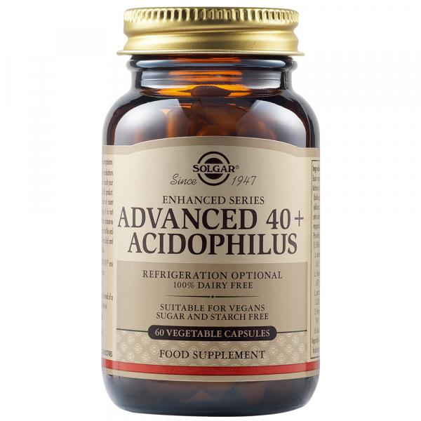 Acidophilus Avansat 40 +, 60 capsule, Solgar 0