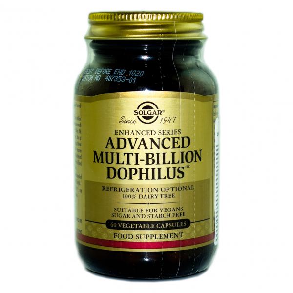 Advanced Multi-billion Dophilus - Solgar, 60 capsule 0