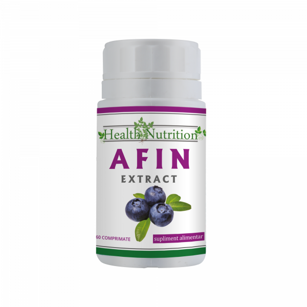 Afin (frunze) Extract 60 mg 60 tb 0