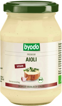 Aioli maioneza cu usturoi vegan bio 0