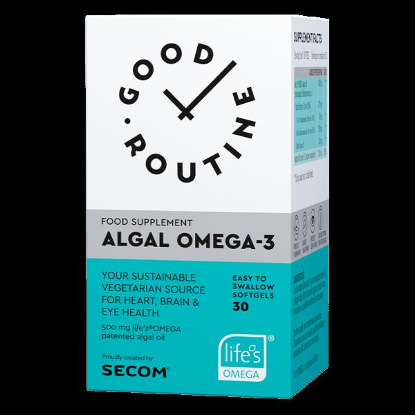 Algal omega-3, 30 capsule, SECOM GOOD ROUTINE [0]