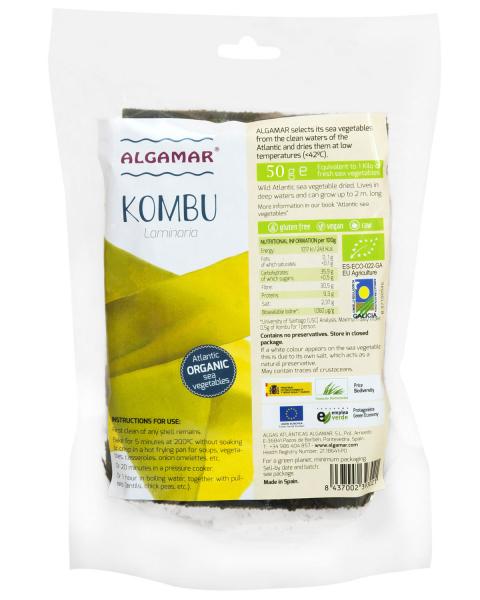 Alge Kombu eco 50g 0