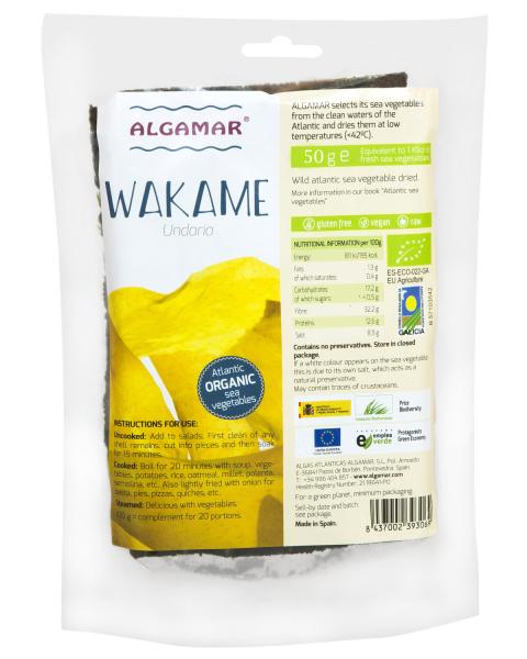 Alge Wakame eco 50g 0