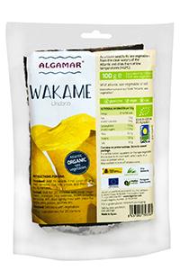 Alge wakame raw bio 100g 0