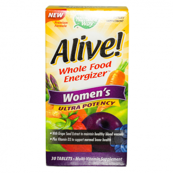 Alive Once Daily Women Ultra Nature's Way, 30 tablete, Secom 0