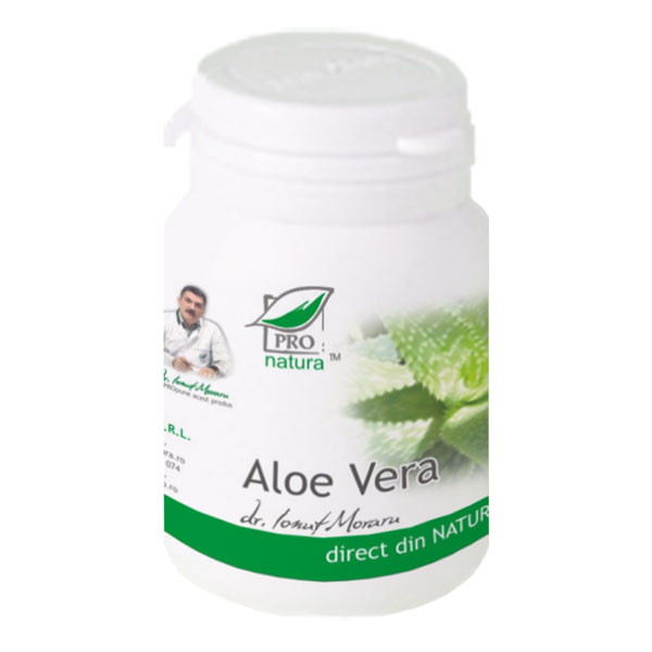 Aloe Vera, 60 capsule, Medica 0