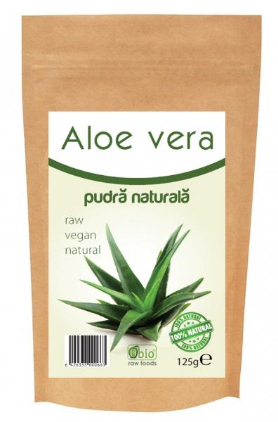 Aloe vera pulbere 125g 0