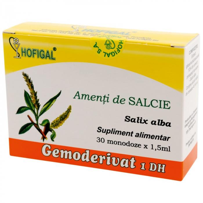 Amenți de Salcie Gemoderivat, 30 monodoze, Hofigal [0]