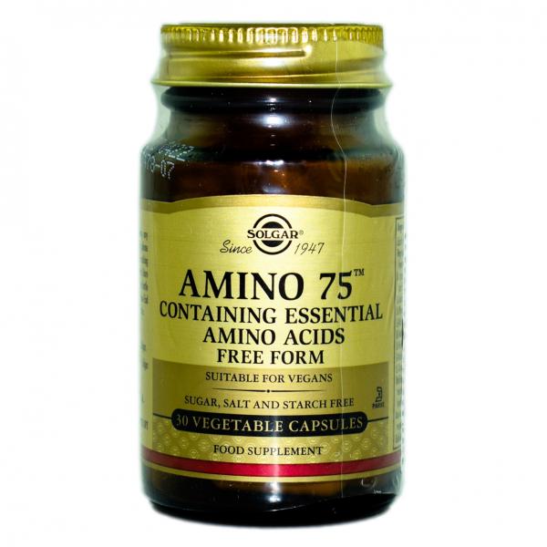 Amino 75, 30 capsule, Solgar 0