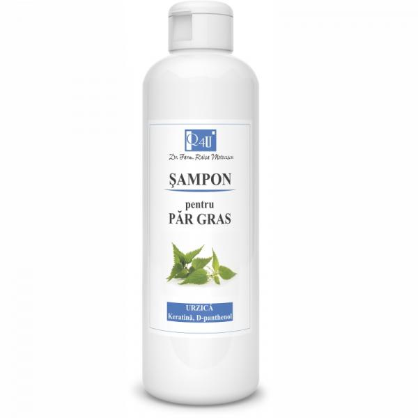 Șampon pentru par gras cu urzica, 200 ml, Tis Farmaceutic [0]
