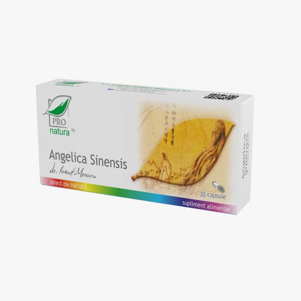 Angelica sinensis, 30 capsule, Medica [0]
