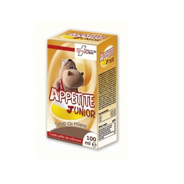 Appetite Junior, sirop cu miere, 100 ml, FarmaClass 0