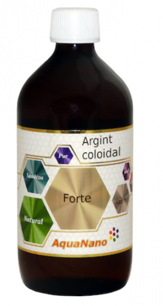 Argint Coloidal AquaNano Forte, 30ppm 480ml, Aghoras Invent 0