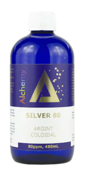 Argint coloidal Silver 80ppm, Pure Alchemy 480 ml, Aghoras Invent 0