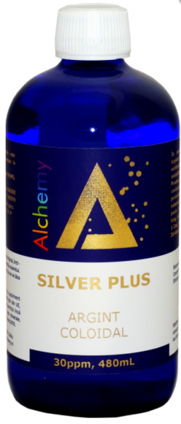 Argint coloidal SilverPlus, Pure Alchemy, 30ppm, 480mL, Aghoras Invent 0