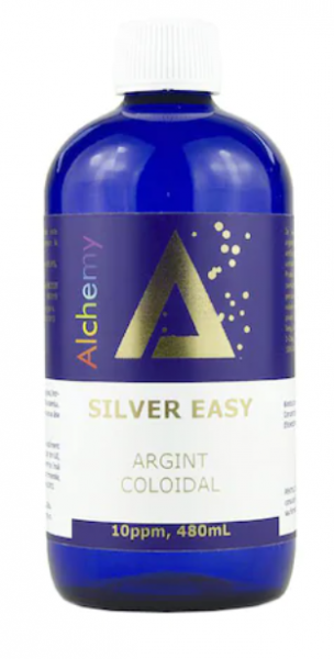 Argint coloidal SilverEasy 10ppm, Pure Alchemy 480 ml, Aghoras Invent 0