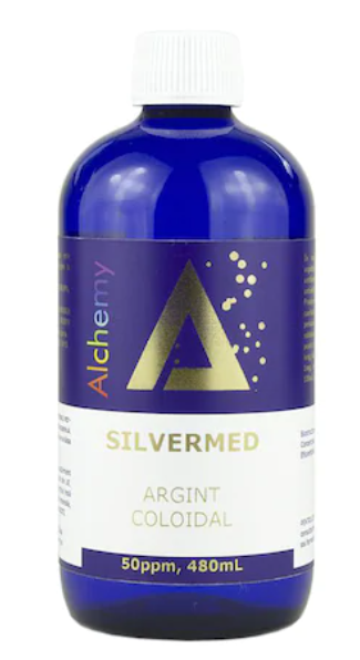 Argint coloidal SilverMed 50ppm, Pure Alchemy 480 ml, Aghoras Invent 0