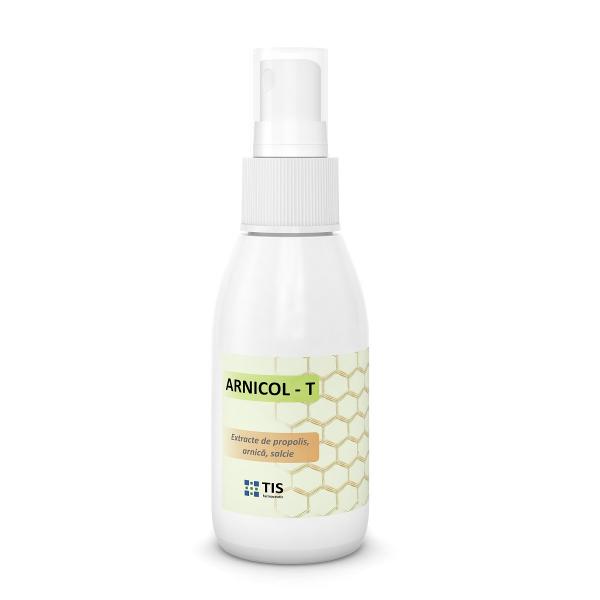 Arnicol-T propolis arnică și salcie, 50 ml, Tis Farmaceutic [0]