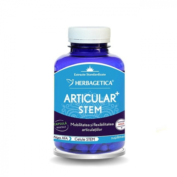 Articular + stem, 120 capsule, Herbagetica [0]