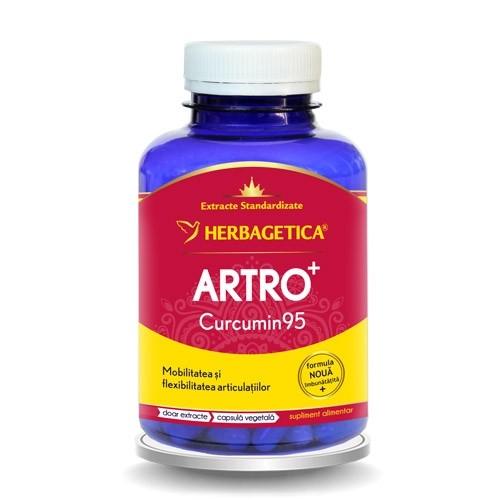 Artro+ curcumin 95, 120 capsule, Herbagetica 0