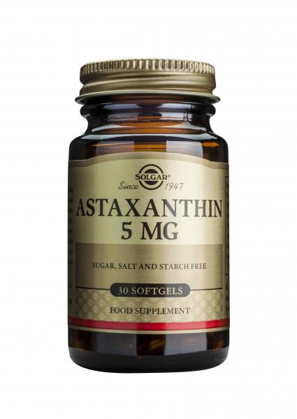 Astaxanthin 5mg, 30 comprimate, Solgar 0