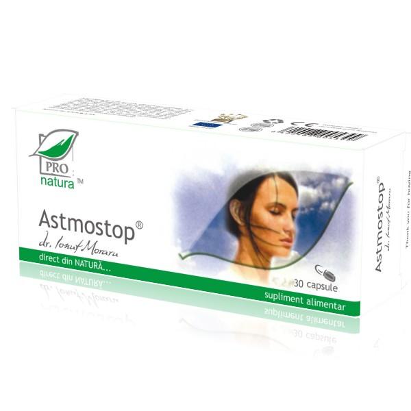 Astmostop, 30 capsule, Medica 1