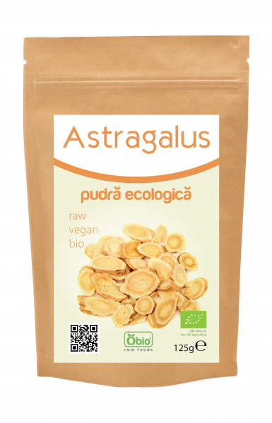Astragalus pulbere raw bio 125g 0