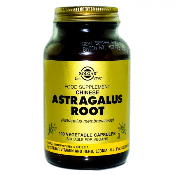 Rădăcină de Astragalus, 100 capsule, Solgar 0