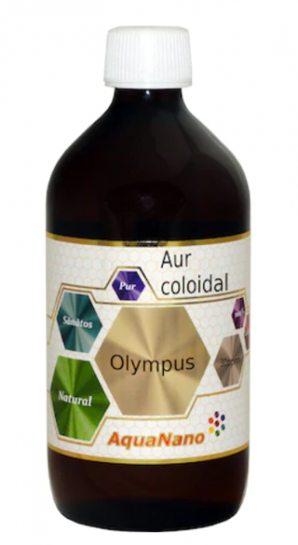 Aur coloidal, AquaNano Olympus, 30ppm, 480ml, Aghoras Invent 0