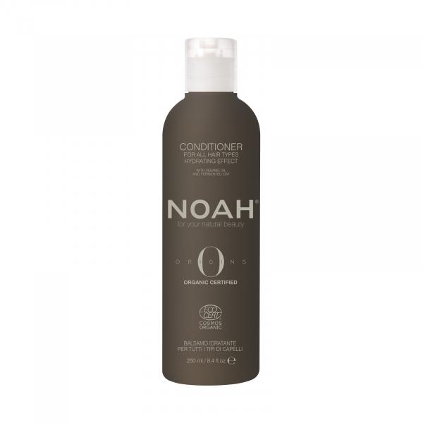 Balsam BIO hidratant cu ulei de susan pentru toate tipurile de par, Noah, 250 ml [0]