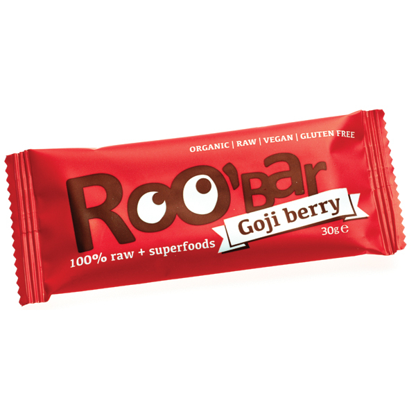 Baton Roobar cu goji raw eco 30g 0