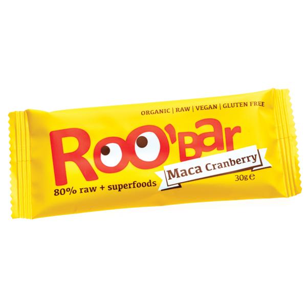 Baton Roobar cu maca si merisor raw eco 30g 0