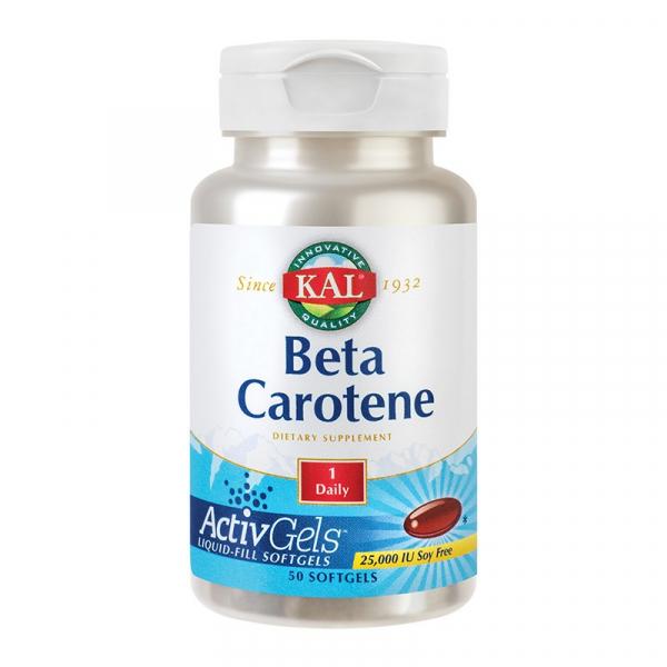 Beta Caroten 25.000UI Kal, 50 capsule, Secom [0]