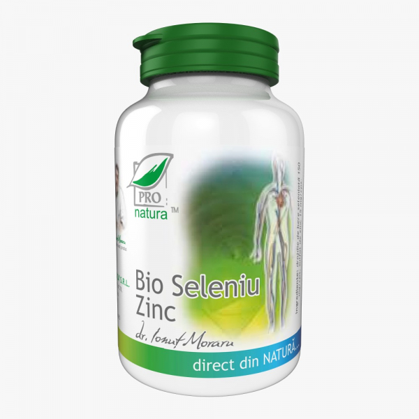 Bio Seleniu Zinc, 60 capsule, Medica 0
