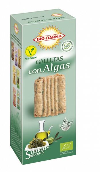 Biscuiti din ovaz cu alge bio 120g Bio Darma 0