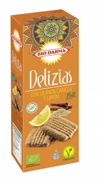 Biscuiti din ovaz cu quinoa, scortisoara si lamaie bio 125g Bio Darma 0