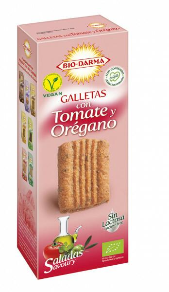 Biscuiti din ovaz cu rosii si oregano bio 120g Bio Darma 0