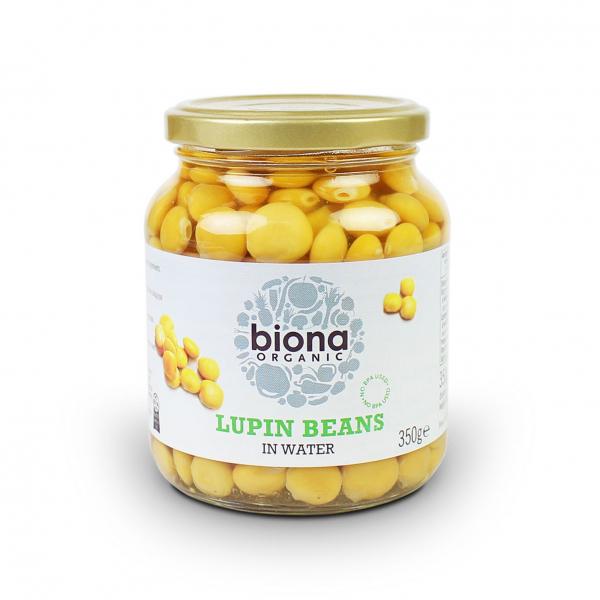 Boabe de lupin eco 350g Biona 0