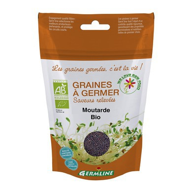 Boabe de mustar pt. germinat bio 100g 0