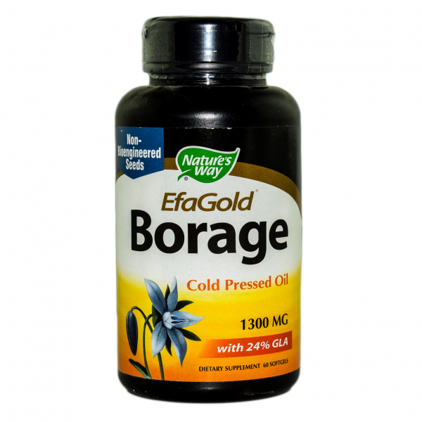 Borage 1300mg EfaGold Nature's Way, 60 capsule, Secom 0