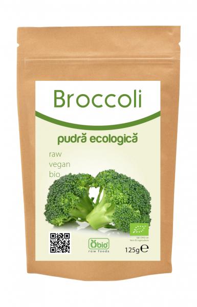 Broccoli pudra bio 125g 0
