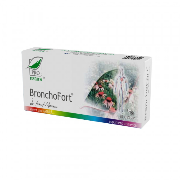 BronchoFort, 30 capsule, Medica 0